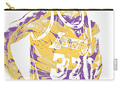 Magic Johnson Los Angeles Lakers Pixel Art 6 Carry-all Pouch