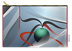 Magnetic Fields Carry-all Pouch by Leo Symon