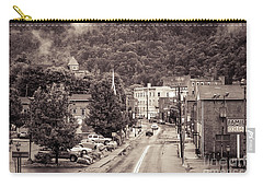 Carry-all Pouch featuring the photograph Main Street Webster Springs by Thomas R Fletcher