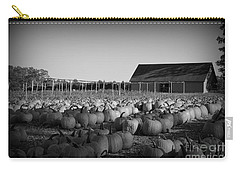 Make Way For Pumpkins Carry-all Pouch by Barbara Bardzik