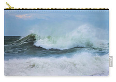 Carry-all Pouch featuring the photograph Making Waves by Robin-Lee Vieira