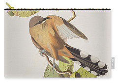 Mangrove Cuckoo Carry-all Pouch by John James Audubon