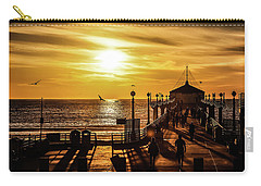 Pier Of Gold Carry-all Pouch