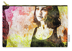 Maria Valverde Carry-all Pouch by Svelby Art
