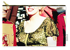 Carry-all Pouch featuring the photograph Marilyn Monroe by R Muirhead Art