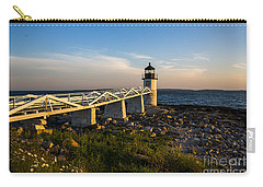 Marshall Point Lighthouse Carry-all Pouch by Diane Diederich