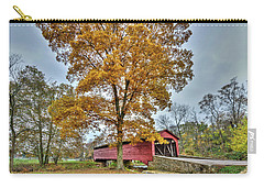 Maryland Covered Bridge In Autumn Carry-all Pouch