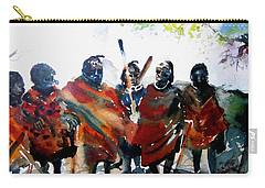 Masaai Boys Carry-all Pouch
