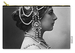 Carry-all Pouch featuring the photograph Mata Hari by Granger