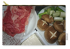 Materials Of The Sukiyaki Dish  Carry-all Pouch