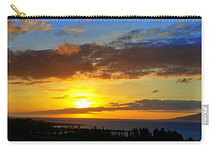 Maui Sunset At The Plantation House Carry-all Pouch