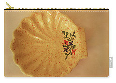 Medium Shell Plate Carry-all Pouch by Itzhak Richter