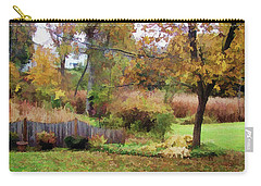 Carry-all Pouch featuring the photograph Mellow Days by Betsy Zimmerli