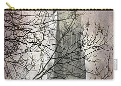 Carry-all Pouch featuring the photograph Memorial by Judy Wolinsky