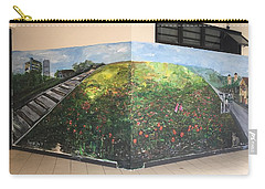 Carry-all Pouch featuring the painting Memories Of Commonwealth by Belinda Low