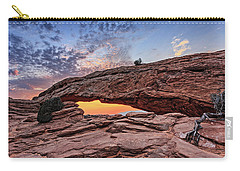 Mesa Arch At Sunrise Carry-all Pouch