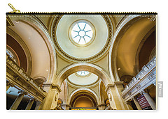 Carry-all Pouch featuring the photograph Metropolitan Museum Of New York by Marvin Spates
