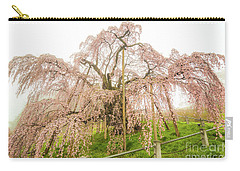 Miharu Takizakura Weeping Cherry02 Carry-all Pouch