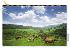 Carry-all Pouch featuring the photograph Milka by Bess Hamiti