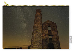 Milky Way Over Old Mine Buildings. Carry-all Pouch