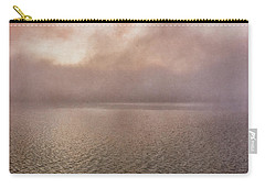 Carry-all Pouch featuring the photograph Misty Morning by Tom Singleton