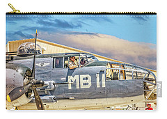 Marine Mitchell B-25 Pbj  Carry-all Pouch