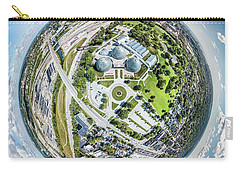 Carry-all Pouch featuring the photograph Mitchell Park Domes by Randy Scherkenbach