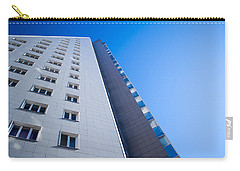 Carry-all Pouch featuring the photograph Modern Apartment Block by John Williams