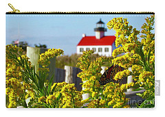 Monarch At East Point Light Carry-all Pouch
