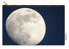 Moon In Blue Carry-all Pouch