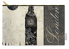 Moon Over London Carry-all Pouch by Mindy Sommers