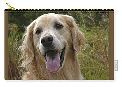 Carry-all Pouch featuring the photograph Morgie by Rhonda McDougall