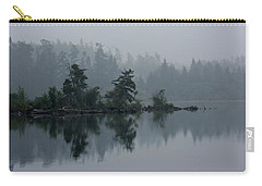 Morning Fog Over Cranberry Lake Carry-all Pouch