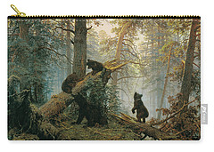 Morning In A Pine Forest Carry-all Pouch
