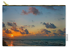 Morning On The Beach Carry-all Pouch