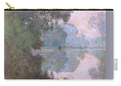 Morning On The Seine Near Giverny 1896 Carry-all Pouch