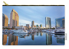 Morning Reflections Carry-all Pouch by Joseph S Giacalone