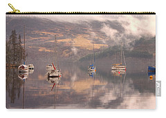 Morning Reflections Of Loch Ness Carry-all Pouch