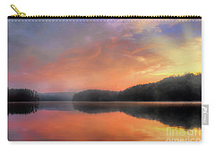 Carry-all Pouch featuring the photograph Morning Solitude by Darren Fisher