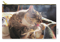 Carry-all Pouch featuring the photograph Morning Wash 2 by Dianne  Connolly