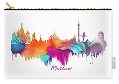 Moscow  Carry-all Pouch by Justyna JBJart