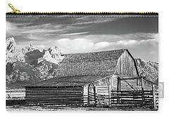 Carry-all Pouch featuring the photograph Moulton Homestead - Barn by Colleen Coccia