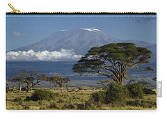 Mount Kilimanjaro Carry-all Pouch