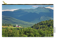 Carry-all Pouch featuring the photograph Mount Mansfield Summer by Alan L Graham