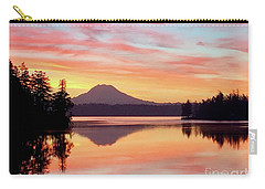 Mount Rainier Dawn Carry-all Pouch
