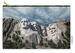 Carry-all Pouch featuring the photograph Mount Rushmore II by Tom Mc Nemar
