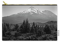 Mount Shasta And Shastina Carry-all Pouch by Frank Wilson