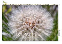 Carry-all Pouch featuring the photograph Mountain Dandelion by Hugh Smith