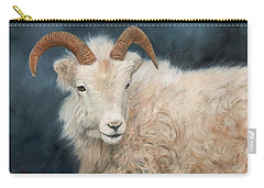 Mountain Goat Carry-all Pouch by David Stribbling