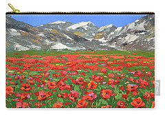 Mountain Poppies  Carry-all Pouch